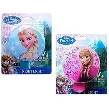 Amazon Com Disney Frozen Princess Elsa And Anna Night