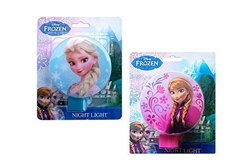 Disney Frozen Princess Elsa and Anna Night Lights (Pack of ()