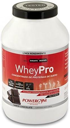 Powergym Wheypro Chocolate 2Kg. (Concentrado de proteínas de ...