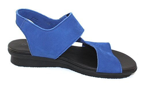 Arche Femme Aurana En Saphir Nubuck - Bleu Vif - Taille 39 M