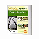 Agfabric Heavy Floating Row Cover and Plant
