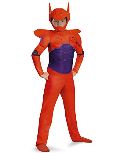 Baymax Costume Toddler (Disguise Red Baymax Classic Costume, X-Small (3T-4T))
