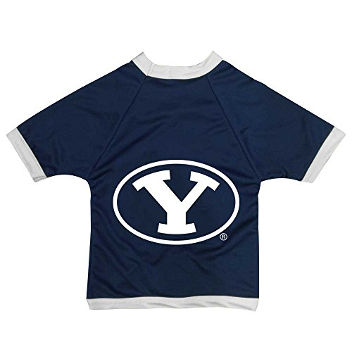 - NCAA Brigham Young University Cougars Collegiate Athletic Mesh Dog Jersey (Small)