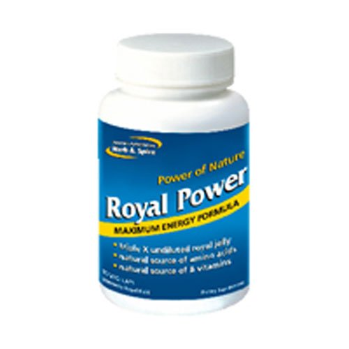 North American Herb and Spice Royal Power, 90 Capsules(pack of 1)