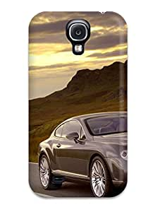 New Style Tpu S4 Protective Case Cover/ Galaxy Case - Bentley Continental Wallpaper