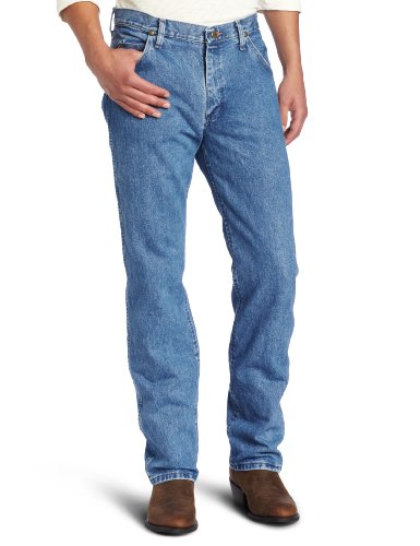 picture of Wrangler Men's Premium Performance Cowboy Cut Jean,Stonewash,36x32