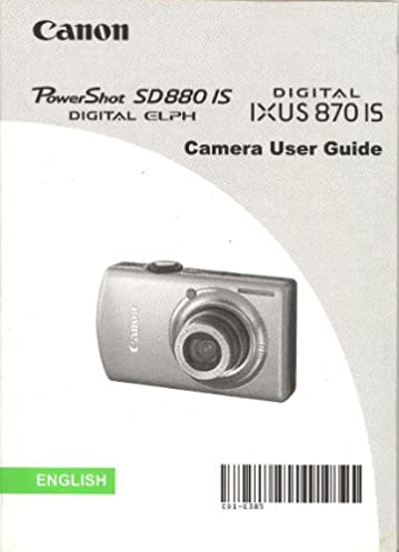 canon powershot sd880 is digital elph canon digital ixus 870 is user rh amazon com Canon Digital IXUS Canon IXUS Usata