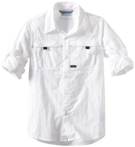 Columbia Big Boys' Silver Ridge Long Sleeve Shirt