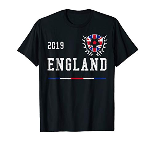 England Football Jersey 2019 English Soccer T-shirt