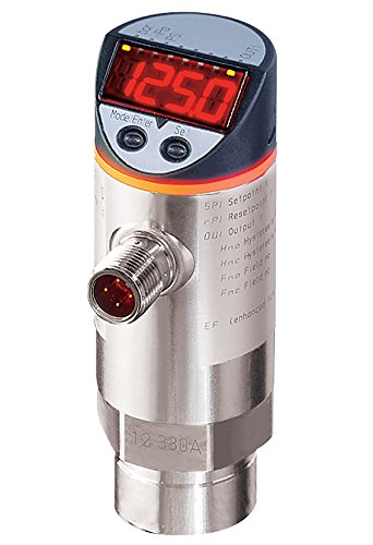 IFM Efector PN7000 Electronic Pressure Monitor, 0 to 400 bar/0 to 5800 PSI/0 to 40 MPa Measuring Range by IFM Efector