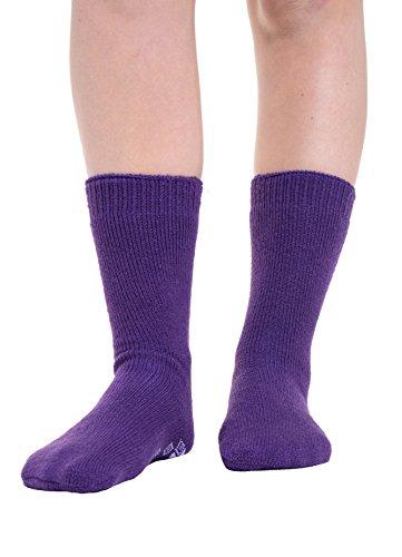 Femmes En Et De Antidérapantes À Ou Douces Hiver 1 Pinces Eesa Assortiment Chaussettes amp; Violet Adam Pour Paires Thermiques Chaudes 3 fwTUxCTq