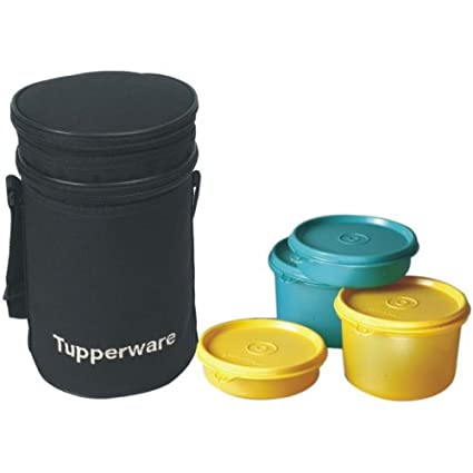 b4eb4d517bc Buy Tupperware Executive Plastic Lunch Set with Bag