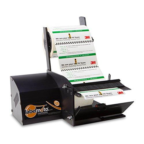START International LDX6100 Super Speed Electric Label Dispenser for Up to 7'' (178 mm) Wide Labels, Black by START International