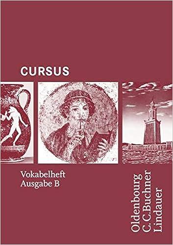 Cursus Ausgabe B Vokabelheft Livre En Allemand