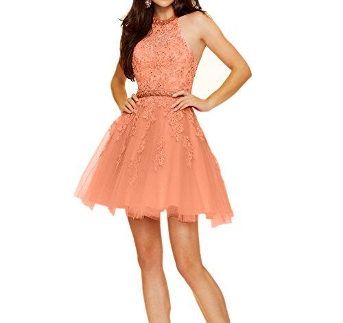 Herrlich Rosa Spitze La Braut Kurz mia Mini Promkleider Orange Cocktailkleider Partykleider Abendkleider Tanzenkleider wqHxFxSEp