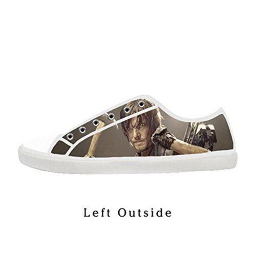 Custom Women The Walking Dead Daryl Dixon Canvas Shoes Co...