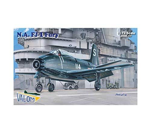 Valom 1/72 Scale N.A. FJ-1 Fury - Plastic Model Building Kit # 72075 1