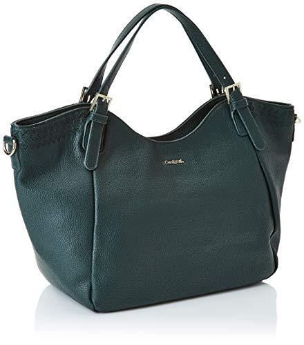 Rotterdam y hombro de Musgo dark bolsos Shoppers Verde Mujer Bols Desigual Amber qXn4pxwUqt