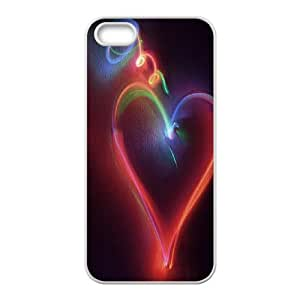 Generic Case love Heart on moon For iPhone 5,5S 324S3W3873