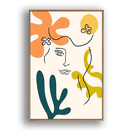 Framed for Living Room Bedroom Illustrati for