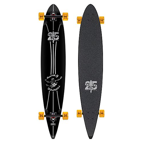Sector 9 25 Year OG Pintail 46 Inch Maple Top Mount Longboard for Carving and Commuting