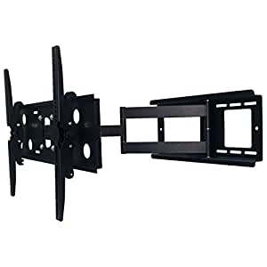 2xhome new tv wall mount bracket single arm. Black Bedroom Furniture Sets. Home Design Ideas