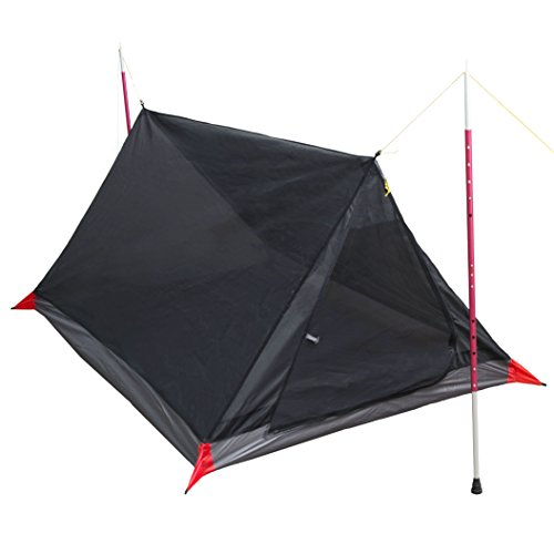 Paria Outdoor Products Breeze Mesh Tent - Ultralight 2 Person Mesh Tent Shelter - Perfect for Camping, Backpacking and Thru-Hikes