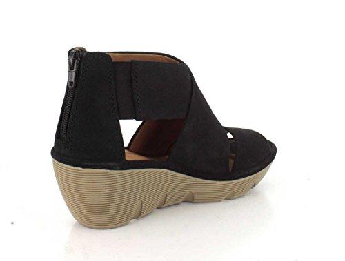 Clarkse Glamour Womensandalen Sandalen Zwart