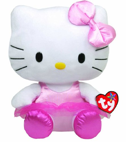 (Ty Beanie Buddies Hello Kitty - Ballerina Medium )
