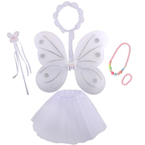 kilofly Princess Party Favor Jewelry Fairy Costume Dress Up Role Play Value Pack -