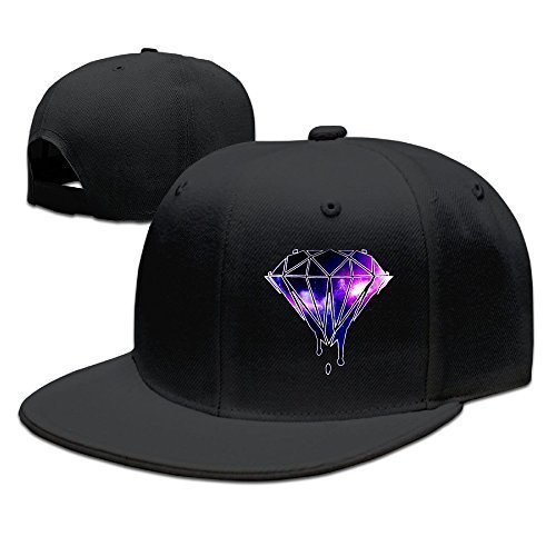Vbe123 Galaxy Diamond Baseball Caps Snapback Trucker Hats Snapbacks (La Galaxy Snapback)