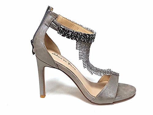 Fashion Pewter en Sandals Pena Alma Women's nXHpOTXx