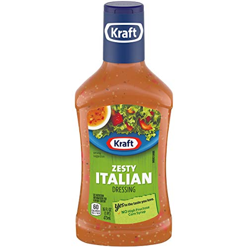 Kraft Zesty Italian Dressing & Marinade (16 oz Bottle)