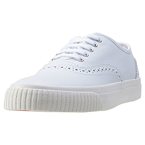 Fred Perry Barson Brogue Leather White B1137100, Scarpe sportive