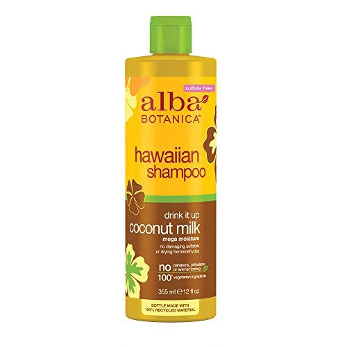 Alba Botanica Hawaiian, Coconut Milk Shampoo, 12 Ounce (Pack of 2)