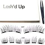 Best RY Glue Eyelashes - Lash'd Up Magnetic Eyelashes Full Eyes Natural Look Review