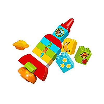 Lego Duplo - My First Rocket - Age 1.5-5 - 18 Pieces - 10815: Toys & Games