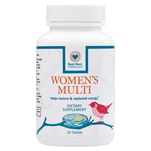 Best Nest Womens Multivitamin   30 Tablets  Methylfolate  Methylcobalamin  B12   Multivitamins  Probiotics  100  Natural Whole Food Organic Blend  Once Daily Womens Supplement