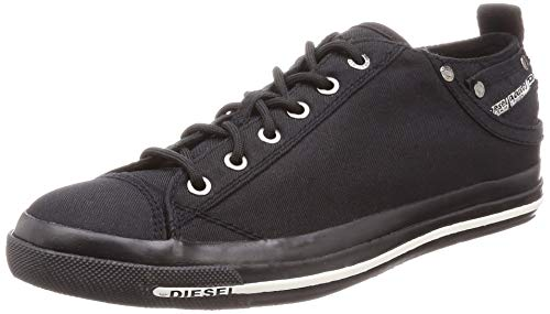- Diesel Men's Magnete Exposure Low I Sneaker Pirate Black 9 M US