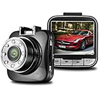 Full HD 1080P Dash Cam with 16GB SD CARD, 170 Wide View HD Dash Cam Dashboard Camcorder Vehicle Camera with G-Sensor, Night vision, WDR, Motion Detection
