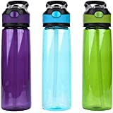 Pursuit 800ml BPA Free, Leak Proof Flip Lid Bottle Water bottle reusable choice of colours
