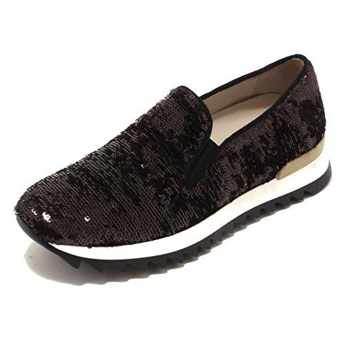 Shoe Uno 4242p nero Donna Bronzo Nero 8 Scarpa Sneaker Woman Bronzo CTTq0UwFx