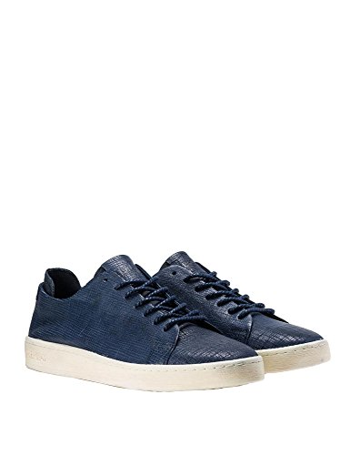 REPLAY Men's Kilburn Lace up Leather Sneakers Navy free shipping 2014 Efv0yJ