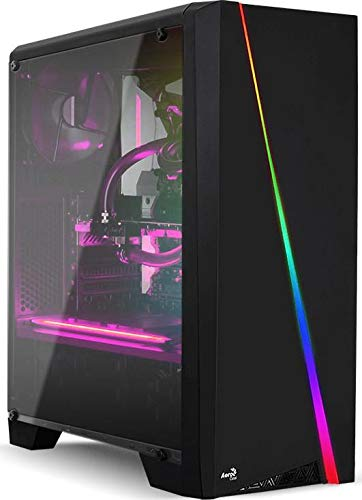 Electrobot i5 9th gen 6 core – Upto 4.10 Ghz, 32GB DDR4 2400Mhz, GTX 1050ti 4GB, 1TB SSD, Gaming PC with 3 Rainbow Color Cooling Fans