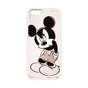 Disney Mickey Mouse Minnie Mouse iPhone 6 Plus 5.5 Inch Cell Phone Case White&Phone Accessory STC_225190