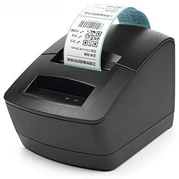 Amazon.com: CICIN Impresora de etiquetas de código de barras ...