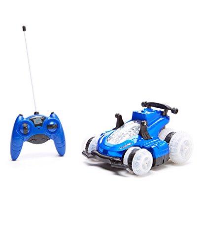 - Mindscope Blue HoverQuad Radio Control RC Stunt Action Light Up LED Vehicle (49 MHz)