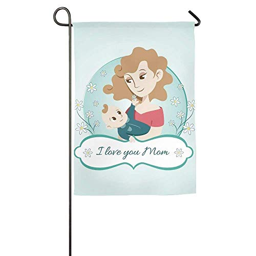 LMHB Baby and Mom Home Garden Indoor/Outdoor Flags