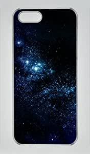 Galaxy of Stars Iphone 5 5S Hard Shell with Transparent Edges Cover Case by Lilyshouse
