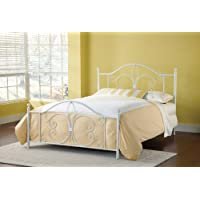 Hillsdale Furniture 1687BK Ruby Bed Set, King, Textured White